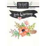 Scrapbook Customs - Cardstock Stickers - Mini Craft - Wyoming Love