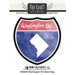 Scrapbook Customs - Cardstock Stickers - Mini Craft - Washington DC Sign