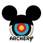 Scrapbook Customs - Cardstock Stickers - Archery - Magic Ears - Boy
