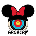 Scrapbook Customs - Cardstock Stickers - Archery - Magic Ears - Girl