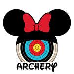 Scrapbook Customs - Cardstock Stickers - Archery - Magic Ears - Girl