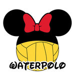 Scrapbook Customs - Cardstock Stickers - Waterpolo - Magic Ears - Girl