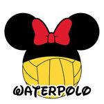 Scrapbook Customs - Cardstock Stickers - Waterpolo - Magic Ears - Girl