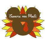 Scrapbook Customs - Cardstock Stickers - Thanksgiving Turkey Magic Ears