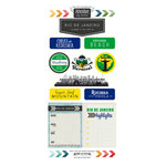 Scrapbook Customs - Adventure Collection - Cardstock Stickers - Rio de Janeiro City
