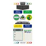 Scrapbook Customs - Adventure Collection - Cardstock Stickers - Rio de Janeiro City