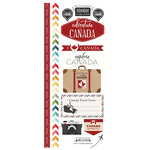 Scrapbook Customs - Adventure Collection - Cardstock Stickers - Canada