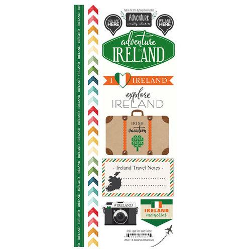 Scrapbook Customs - Adventure Collection - Cardstock Stickers - Ireland