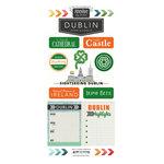 Scrapbook Customs - Adventure Collection - Cardstock Stickers - Dublin City
