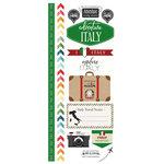 Scrapbook Customs - Adventure Collection - Cardstock Stickers - Italy