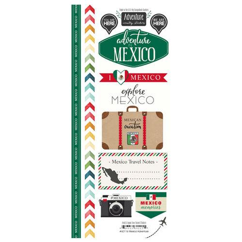 Scrapbook Customs - Adventure Collection - Cardstock Stickers - Mexico