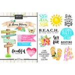 Scrapbook Customs - World Collection - Virgin Islands - Cardstock Stickers - Getaway - St. Thomas