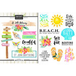 Scrapbook Customs - World Collection - Virgin Islands - Cardstock Stickers - Getaway - St. John