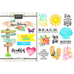 Scrapbook Customs - World Collection - USA - Cardstock Stickers - Getaway - Maui