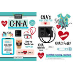 Scrapbook Customs - Occupations Collection - Cardstock Stickers - CNA