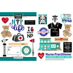 Scrapbook Customs - Occupations Collection - Cardstock Stickers - NP