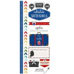 Scrapbook Customs - South Korea Adventure Collection - Cardstock Stickers - Adventure City - South Korea