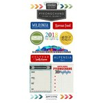 Scrapbook Customs - South Korea Adventure Collection - Cardstock Stickers - Adventure City - Pyeongchang
