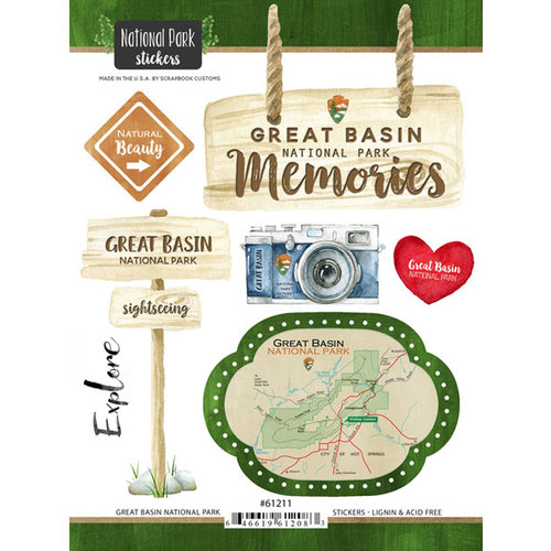 Sbook Customs - United States National Parks Collection - Cardstock on calendar stickers, kentucky stickers, hawaii map stickers, usa patchwork map stickers, wyoming stickers, barbados map stickers, mississippi stickers, states visited maps stickers, north carolina stickers, united states state abbreviations,