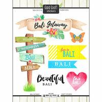 Scrapbook Customs - Getaway Collection - Cardstock Stickers - Bali Getaway