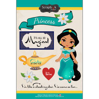 Scrapbook Customs - Inspired By Collection - Cardstock Stickers - Arabian Princess