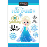 Scrapbook Customs - Inspired By Collection - Cardstock Stickers - Ice Queen
