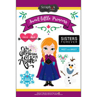 Scrapbook Customs - Inspired By Collection - Cardstock Stickers - Ice Princess