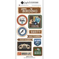 Scrapbook Customs - Life Is Better Collection - Cardstock Stickers - Bird Watching