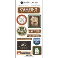 Scrapbook Customs - Life Is Better Collection - Cardstock Stickers - Camping