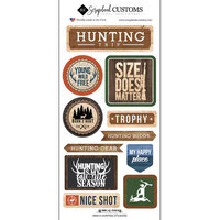 Scrapbook Customs - Life Is Better Collection - Cardstock Stickers - Hunting