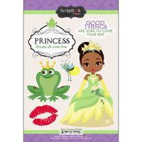 Scrapbook Customs - Cardstock Stickers - Green Princess