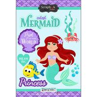 Scrapbook Customs - Cardstock Stickers - Water Princess