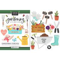 Scrapbook Customs - Cardstock Stickers - Gardening