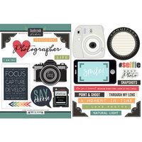 Scrapbook Customs - Cardstock Stickers - Photography
