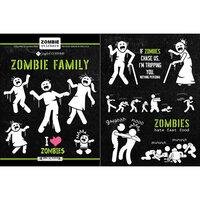 Scrapbook Customs - Cardstock Stickers - Zombie Stick People
