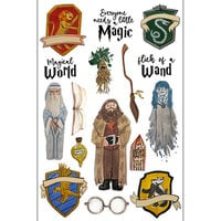 Scrapbook Customs - Magical Witch and Wizard Collection - Laser Die Cut Outs - Witch and Wizard 2