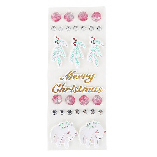 Fun Stampers Journey - Christmas - Embellishments - Frosted Forest