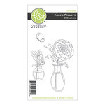 Fun Stampers Journey - Kindness Matters Collection - Cling Mounted Rubber Stamps - Kara's Flowers