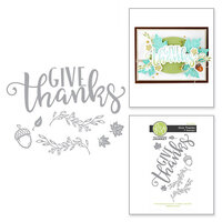 Fun Stampers Journey - Cling Rubber Stamps - Fall Thanks