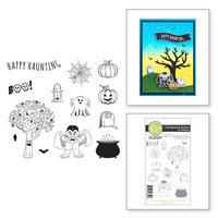 Fun Stampers Journey - Cling Rubber Stamps - Fall Build-A-Scene