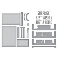 Spellbinders - Make A Scene Collection - Etched Dies - Bold Greetings Bundle