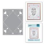 Spellbinders - Cut and Embossing Folder - Diamond Lace Frame