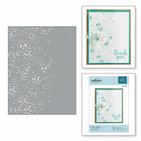 Spellbinders - Cut and Embossing Folder - Flower Garden