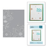 Spellbinders - Cut and Embossing Folder - Floret Cluster