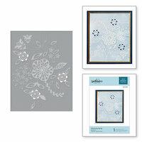 Spellbinders - Cut and Embossing Folder - Blooming Sprigs