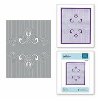 Spellbinders - Cut and Embossing Folder - Regal Swirl