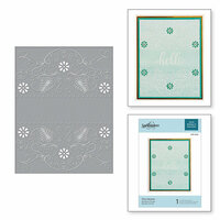 Spellbinders - Cut and Embossing Folder - Flora Banner