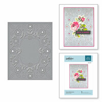 Spellbinders - Cut and Embossing Folder - Floral Reflections