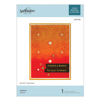 Spellbinders - Cut and Embossing Folder - Sedona