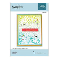 Spellbinders - Cut and Embossing Folder - Lahaina